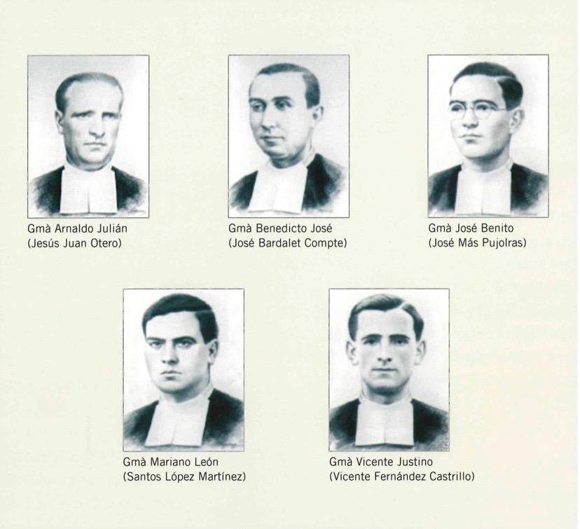 Beatificació de cinc germans